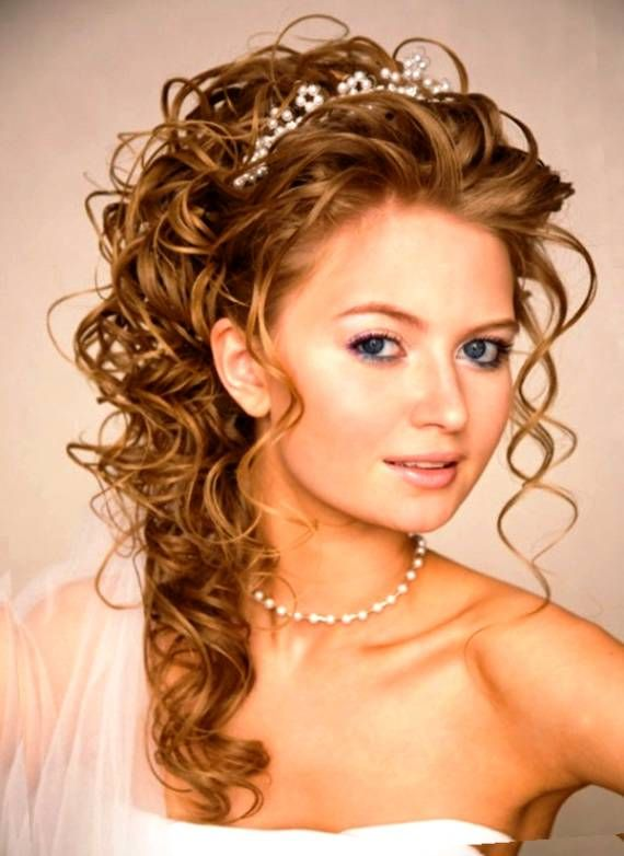 Mother Of The Groom Hairstyles For Naturally Curly Long Hair Google Search Long Hair Styles Hair Styles Medium Hair Styles