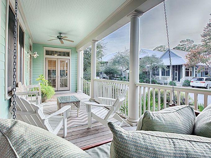 Mint Julep - WaterColor, Florida (House of Turquoise) | Holzhäuschen ...