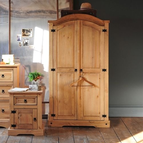 Corona Mexican Pine Arched Double Wardrobe including free delivery ...