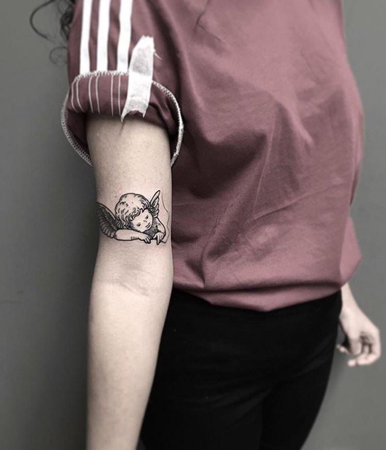Angel Tattoos  Popsugar Beauty Angel s  POPSUGAR Beauty  angel tattoos - Tattoo