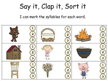 how to find number of syllables in words