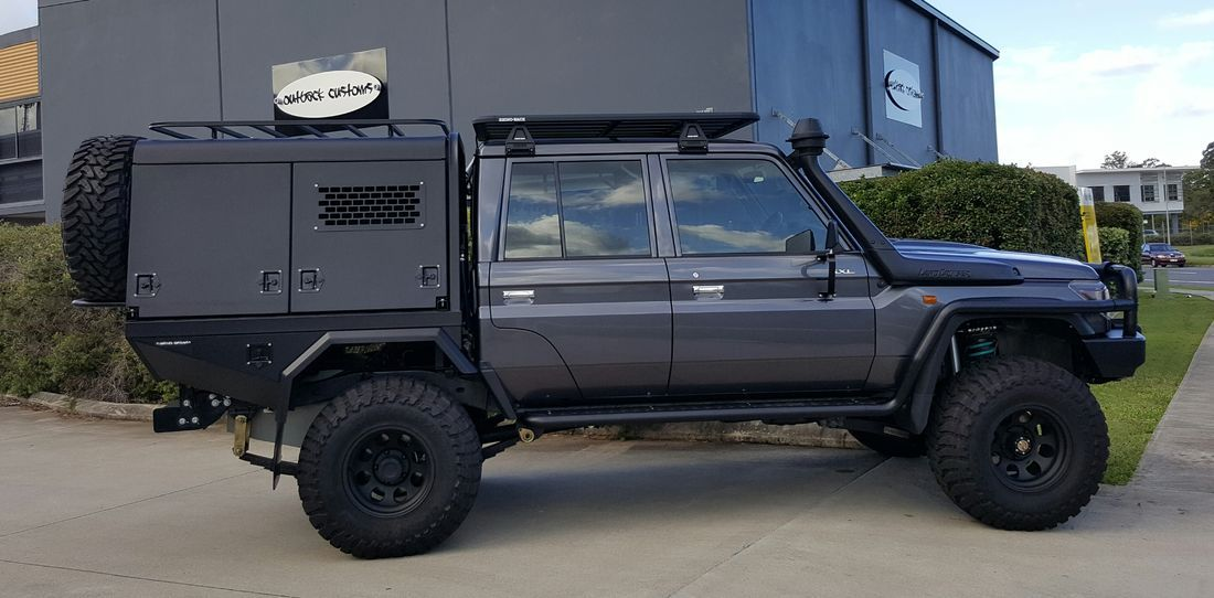 79series Custom Built Tray And Canopy Toyota Pinterest