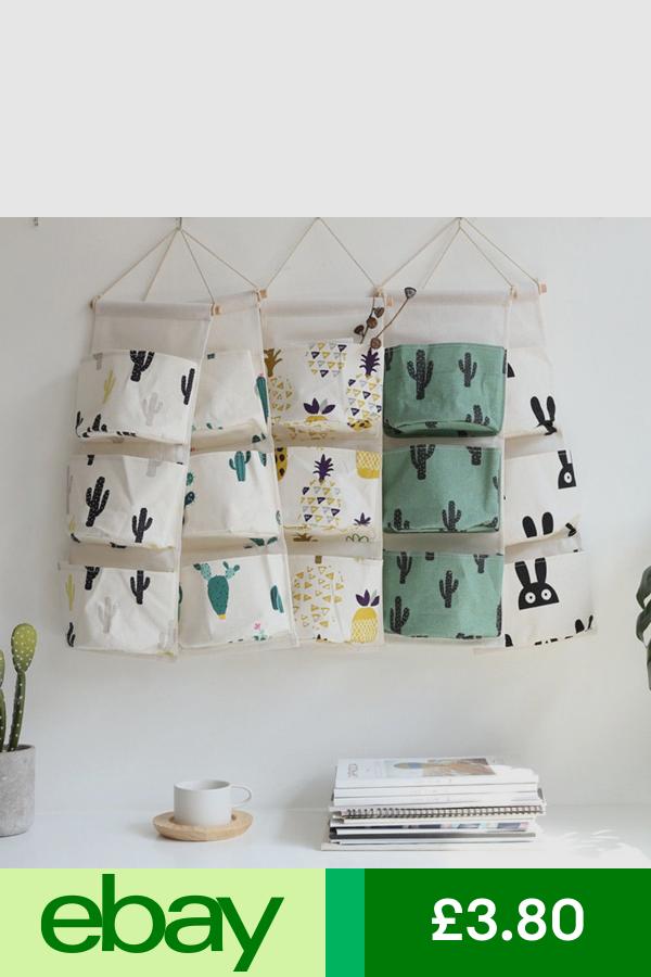 Storage Bags Home Furniture Diy Ebay Wall Closet Hanging