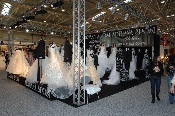 Il nostro stand a ROMASPOSI dal 16 al 20 gennaio 2014 alla Nuova Fiera di Roma #nozze #sposi #eventi