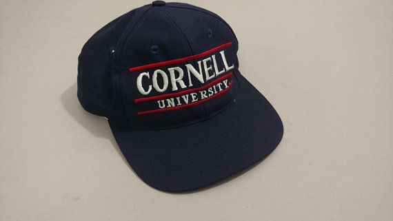 85646453b34235 Rare Vintage Cornell University the Game snapback Cornell University,  Headgear, Snapback, Baseball Hats