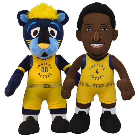 b1afa1b25bc Bleacher Creatures Indiana Pacers Dynamic Duo-Victor Oladipo and Boomer 10  inch Plush Figures.