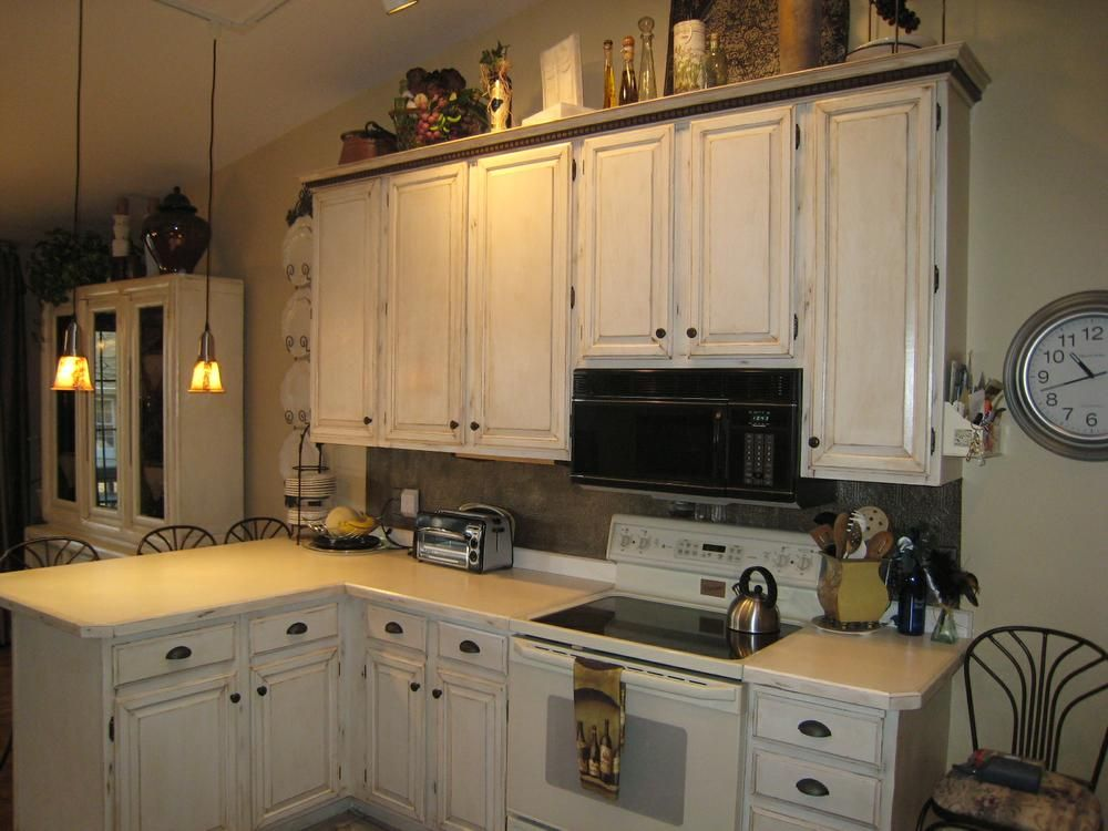 distressed cabinets | Distressed cabinets, Distressed ...