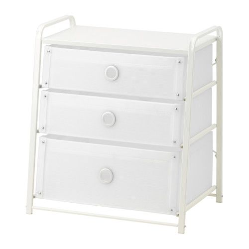 24 99 Ikea Lote 3 Drawer Chest Can Also Be Used As A Nightstand The Lightweight Of Drawers Is Easy To Move Because Handles Are Part