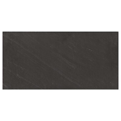 American Olean Carbon Mist Slate 12 In X 24 In Glazed Porcelain Stone Look Floor And Wall Tile Lowes Com Wall Tiles Floor And Wall Tile Flooring