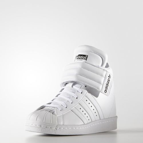 new concept b4de0 96b33 adidas Zapatos Originals Superstar Up Strap Mujer - White   adidas Colombia