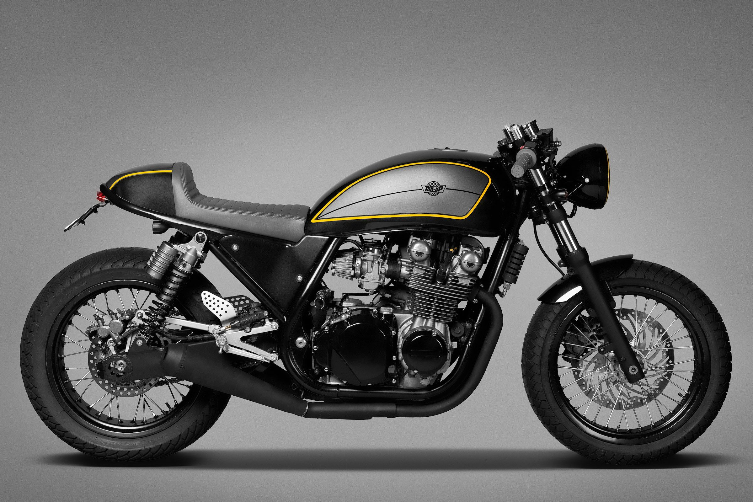 awesome kawasaki zephyr cafe racerton up garage | kawasaki