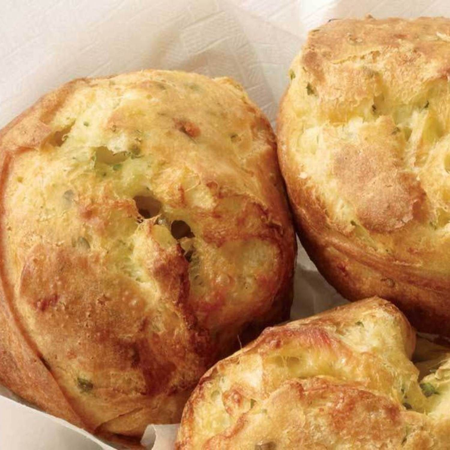 Parmesan Popovers Recipe | Just A Pinch Recipes