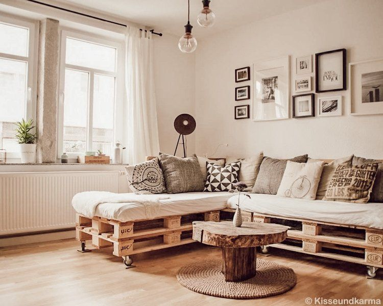 Styling The Most Versatile Rug Of All Time Pallet Couch Couches Living Room Couch Design