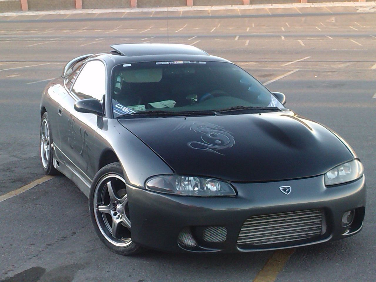EagleTalon is simple flat ad wide styled car that looks amazing in