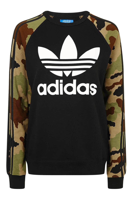 Camo Print Trefoil Sweatshirt by Adidas Originals - Brands | Camo ...