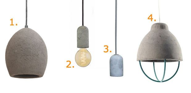 Budget find: 4x betonnen hanglamp onder de 40 euro