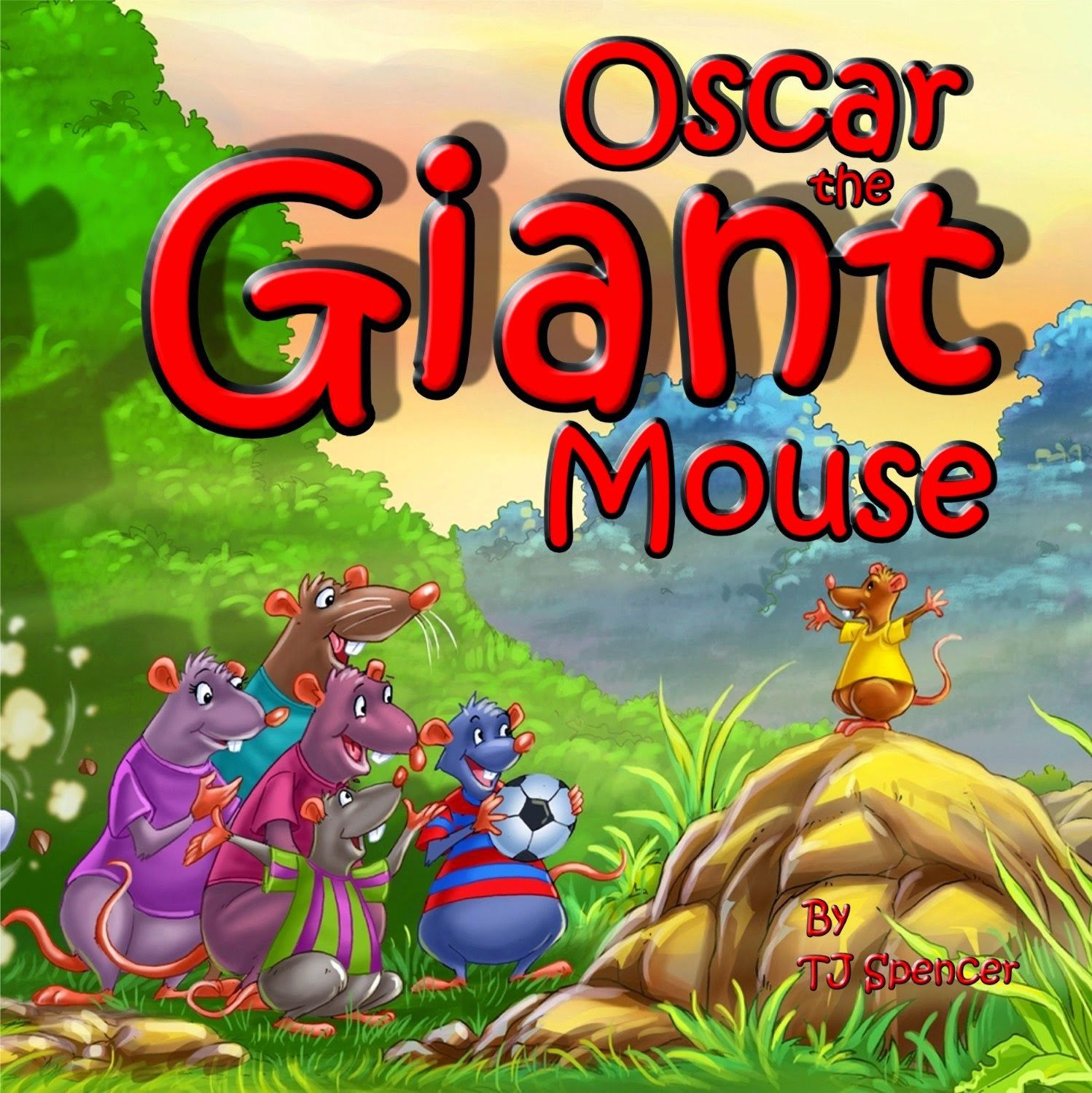 Free Children's Kindle Book Oscar the Giant Mouse