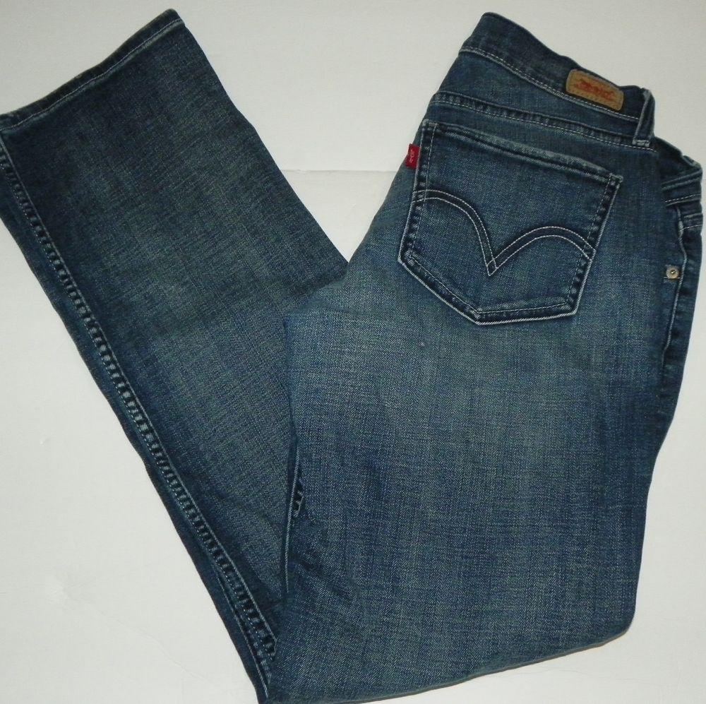 720176db5fc Levi's Too Superlow 524 Denim Distressed Blue Jeans Size 11 M #Levis ...