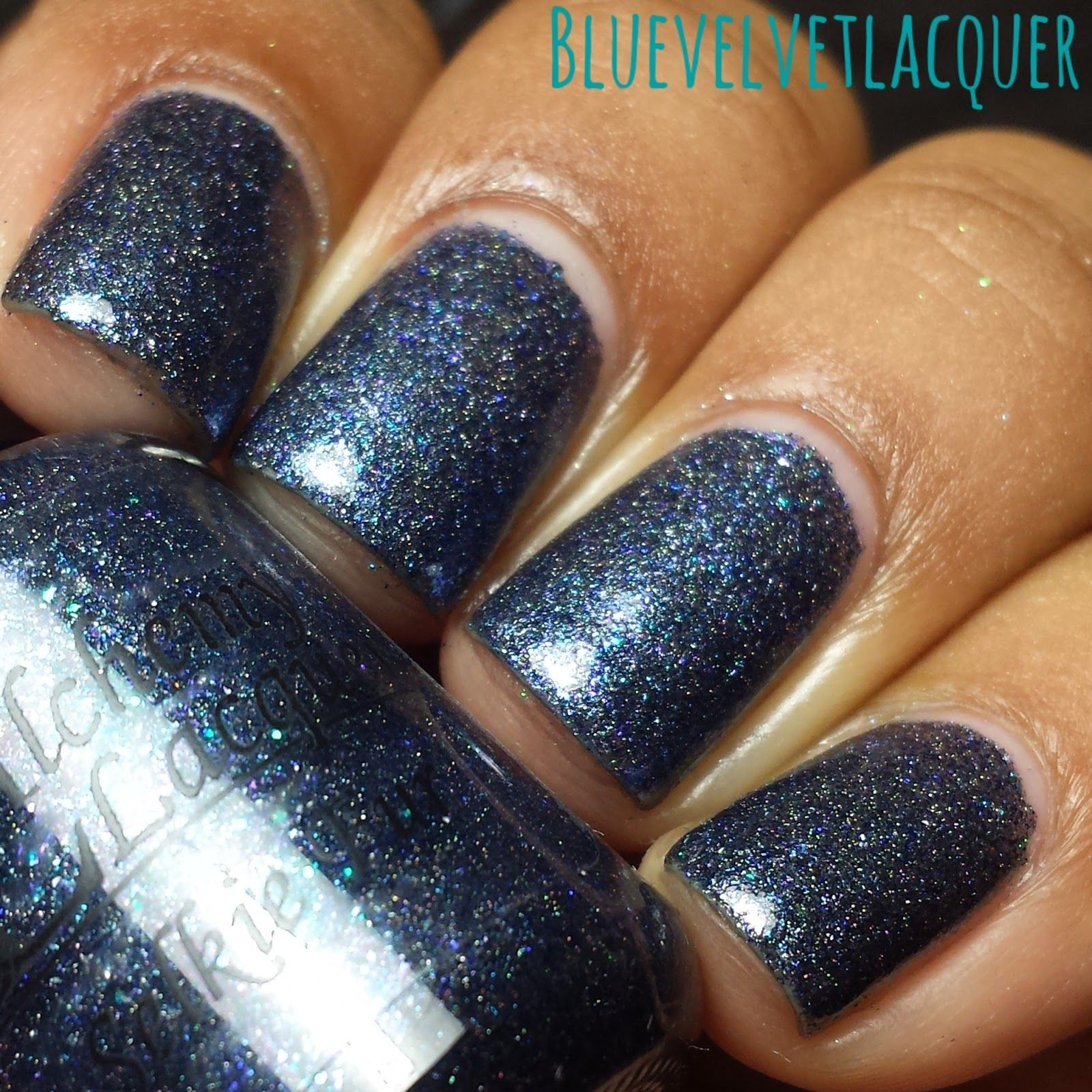 Blue Velvet Lacquer: Alchemy Laquers: Alchemical Imaginarium Water Fae Collection- Swatches & Review