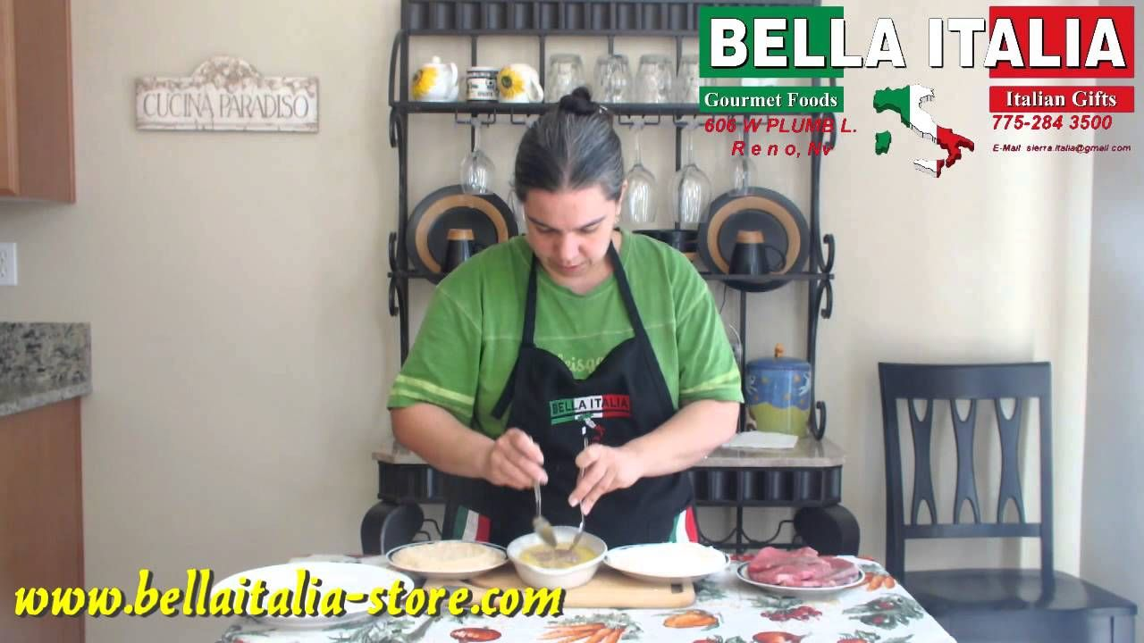 How to prepare Italian beef breaded cutlets
