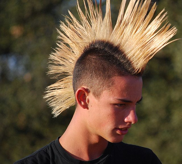 Pin By Macho Hairstyles On Trends: Awesome 45 Wonderful Ways To Wear Mohawk Haircut