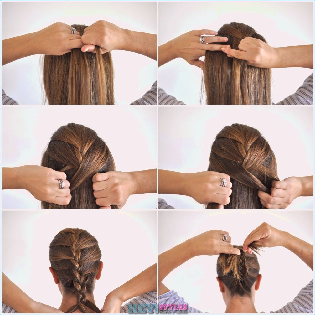 Braided Shoulder Length Hair 15 Easy To Use Instructions For Every Day Braided Ev Medium Length Hair Styles Braided Hairstyles Easy French Braid Hairstyles