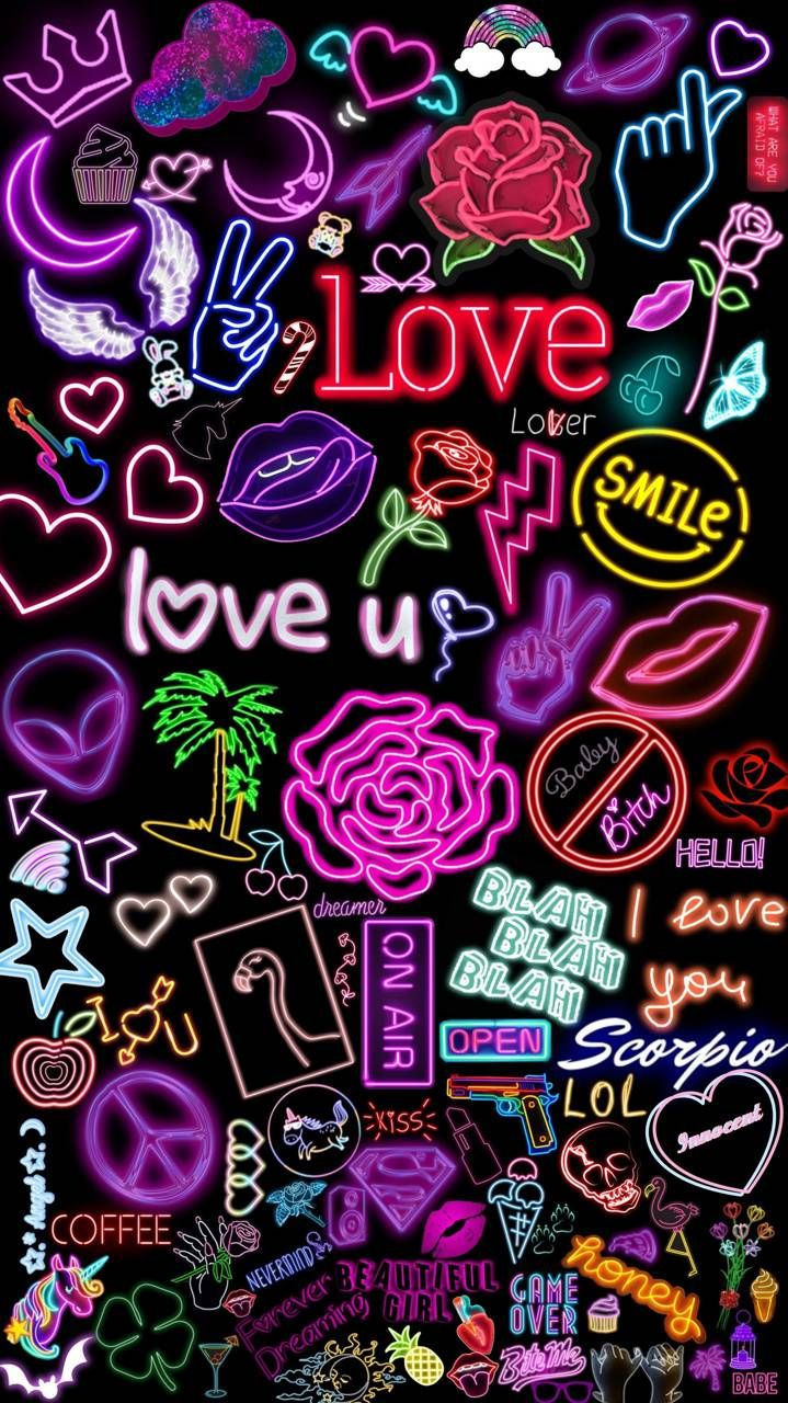 Neon dream wallpaper by Itzlaperez - 5a - Free on ZEDGE™