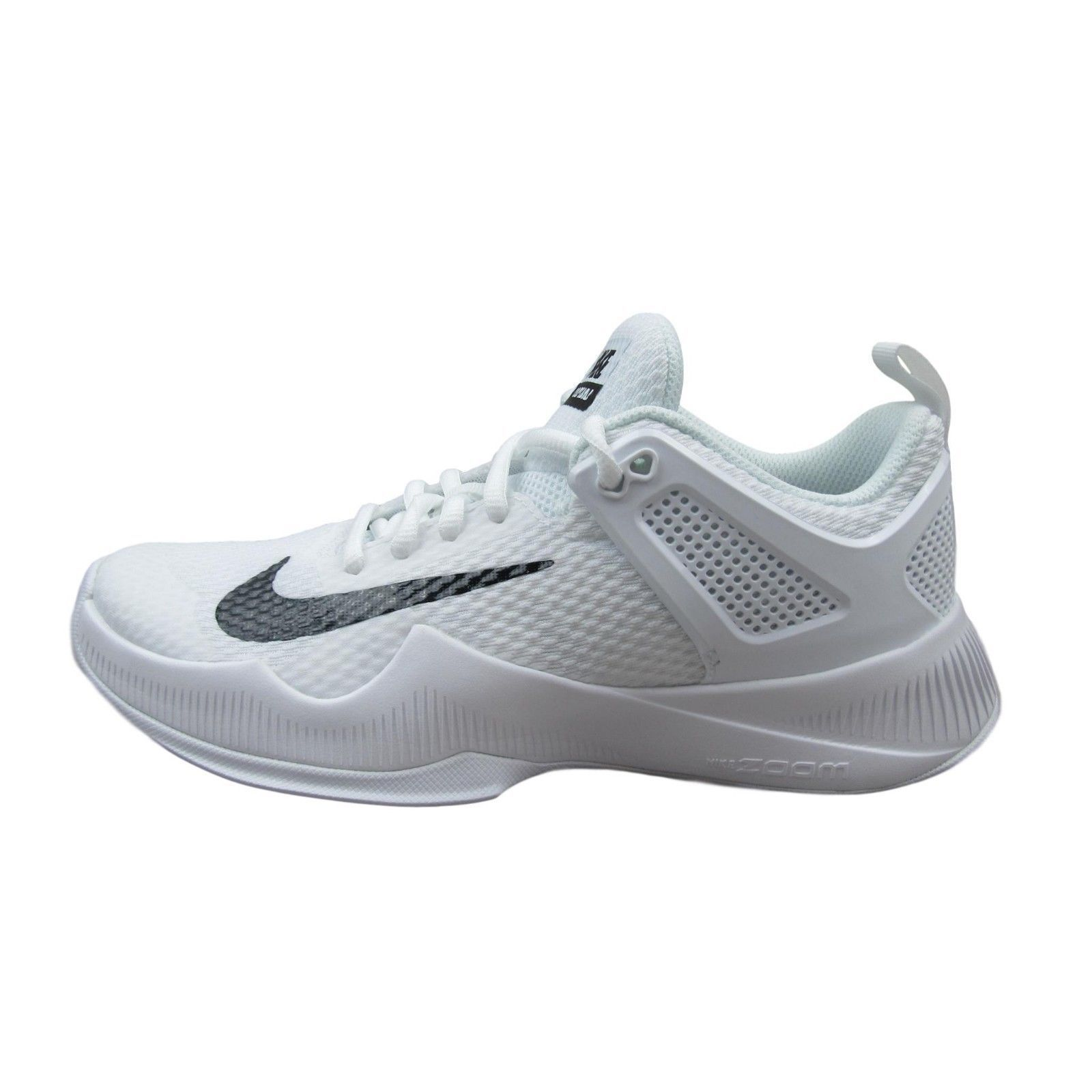 Nike Air Zoom Hyperace Volleyball Shoes Womens 902367 100 White Multiple Size Ebay Nike Nikevolley Volleyball Shoes Nike Volleyball Shoes Nike Shoes Girls