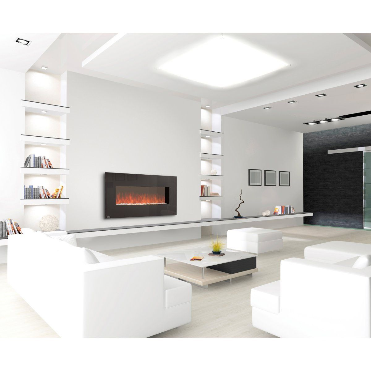 Linear Wall Mount Electric FireplacesNapoleon Electric FireplaceNapoleon