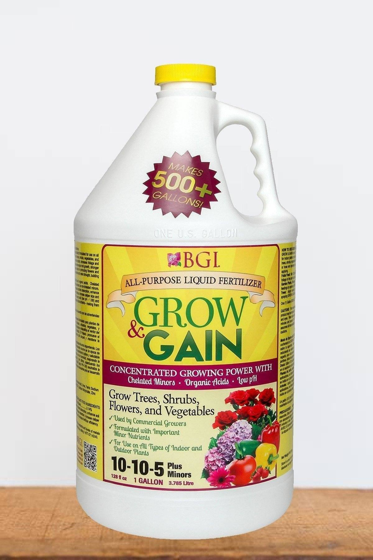 Buy Grow & Gain Concentrated All Purpose Organic Liquid Plant Food