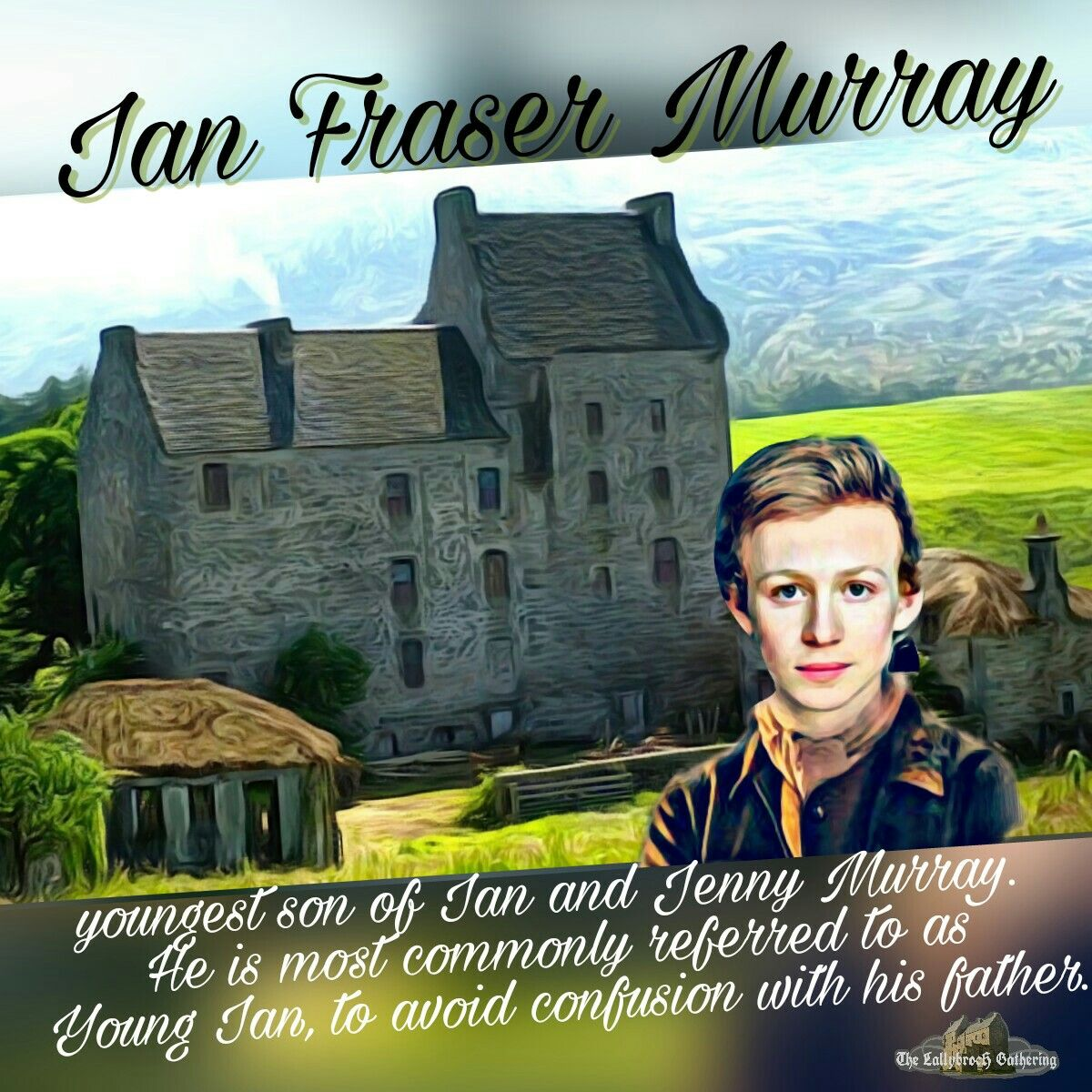 Young Ian Murray Voyager #OutlanderS3
