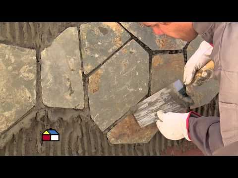 Pared de piedra textura manos creativas youtube relieves pinterest - Como hacer muros de piedra ...