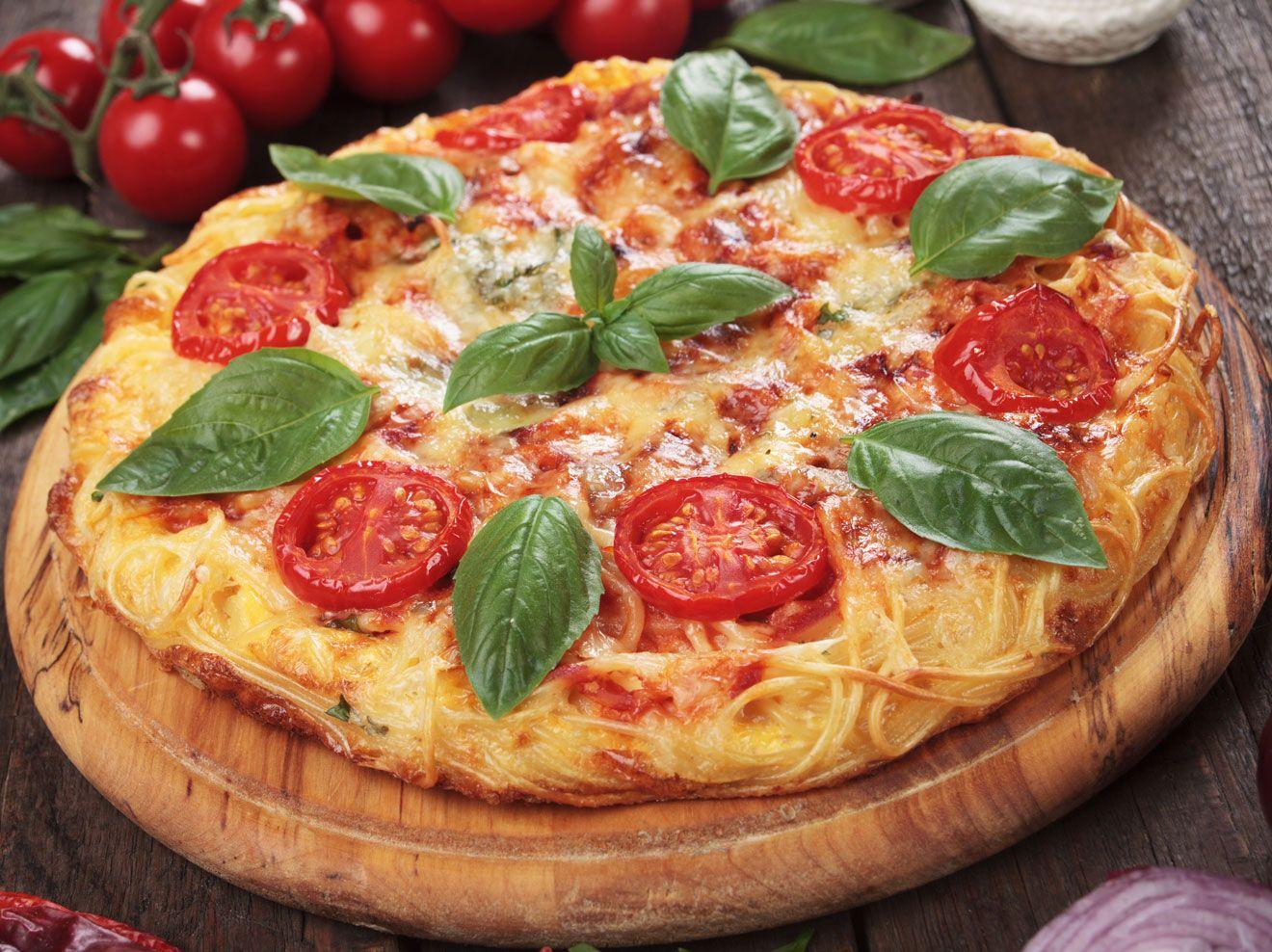 Spaghetti-Pizza: Ein Traum aus Pasta und Pizza | Wunderweib