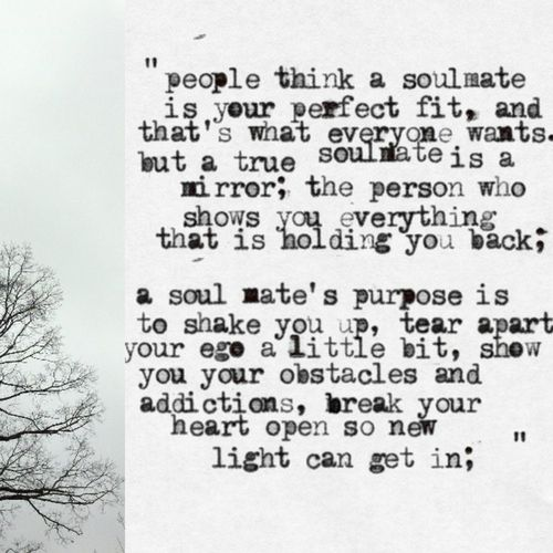 Break Your Heart Open So New Light Can Get In Soul Mates