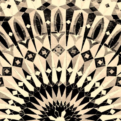 Kaleidoscopia _ titanium crystals wwwkarenelliottcc.com Phillip Taaffe - Radiant Study
