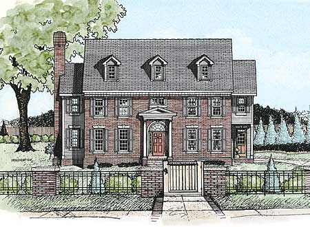 Plan 41559db Colonial House Plans Monster House Plans Colonial House
