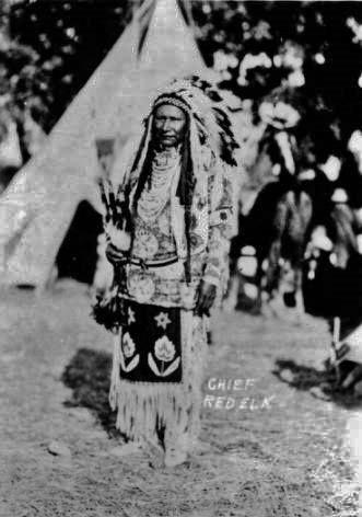 Red Elk - Nez Perce - 1918