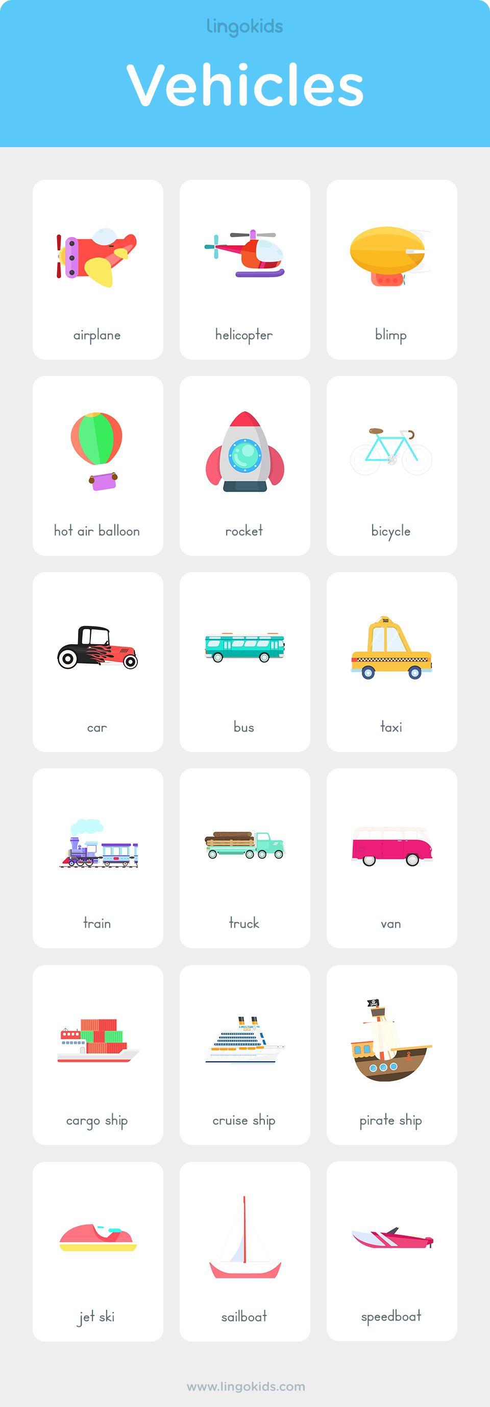 modes of transport matayus education english transportation preschool activities. Black Bedroom Furniture Sets. Home Design Ideas