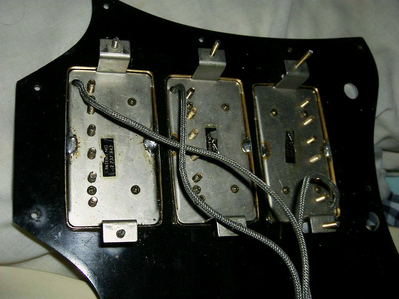 Vintage 1968 Gibson SG Custom Polaris White