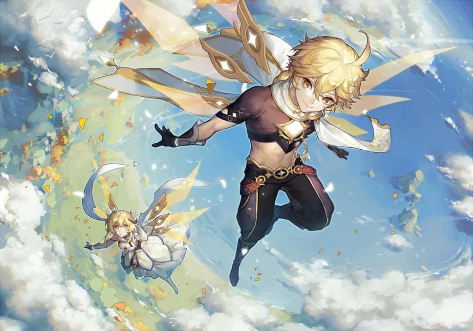 Pin By Cloverse Sama On Genshin Impact Impact Anime Anime Art