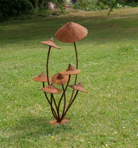 12 Rustic Metal Projects For Your Backyard   Page 13 Of 13. Rusted  MetalMetal SculpturesGarden ...
