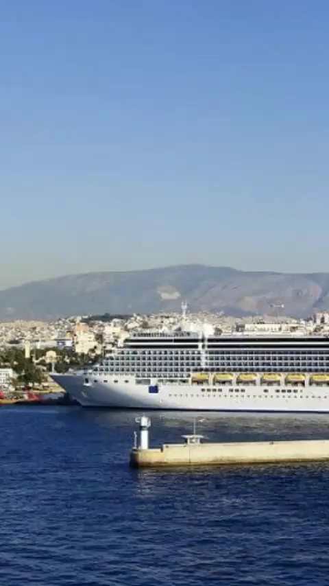 How to get from Piraeus Port in Greece to Athens. Piraeus Port is where many of the cruise ships visiting Athens dock. This guide has all you need to know about getting to Athens from Piraeus port in Greece. #piraeus #piraeusport #piraeusportathens #greece #athens #athensgreece #piraeusgreece #piraeusportgreece #piraeustoathens #athenscruise #europecruise #traveltips #cruisetips #greececruise #medcruise