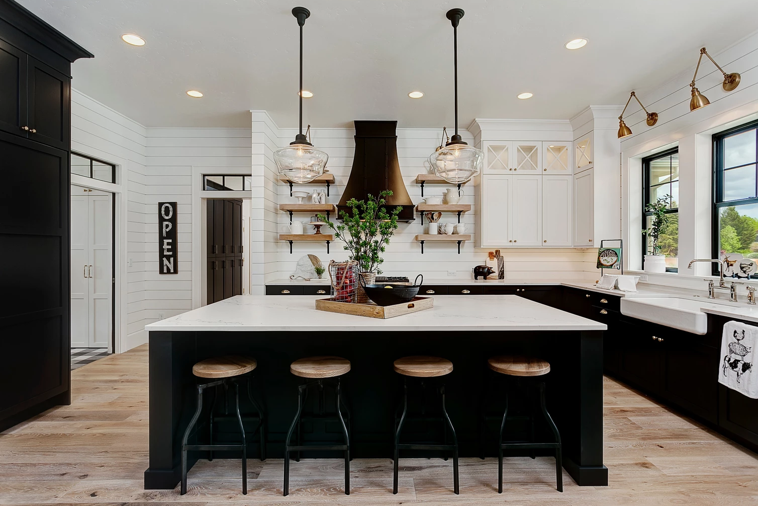 Best The 15 Most Beautiful Modern Farmhouse Kitchens On 400 x 300