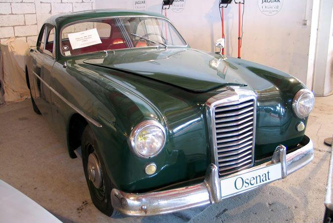 1951 Jaguar Mark VII Meteor Coupe Stablimenti   Jaguar ...