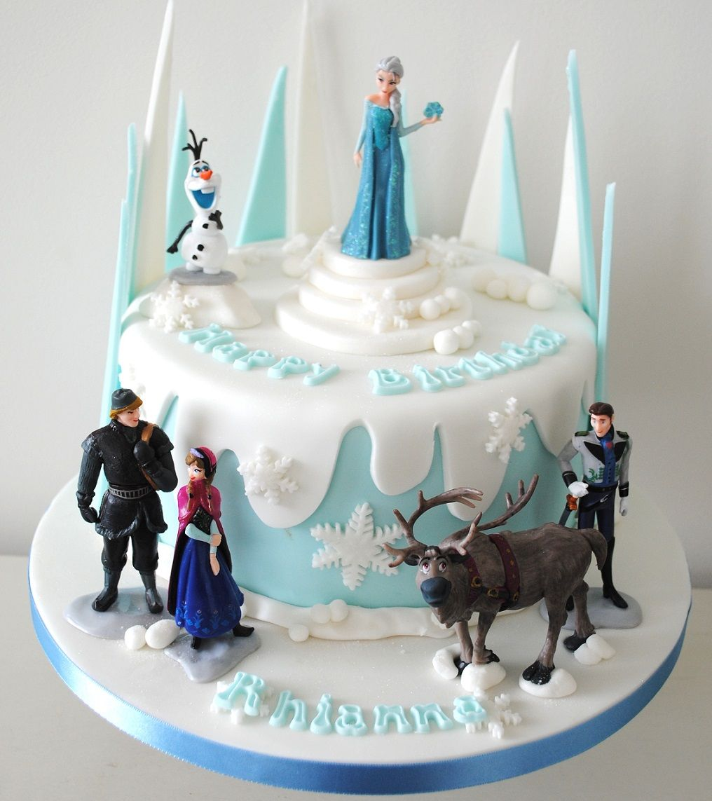 Disneys Frozen Cake Toppers Decorations Disney Characters Themed
