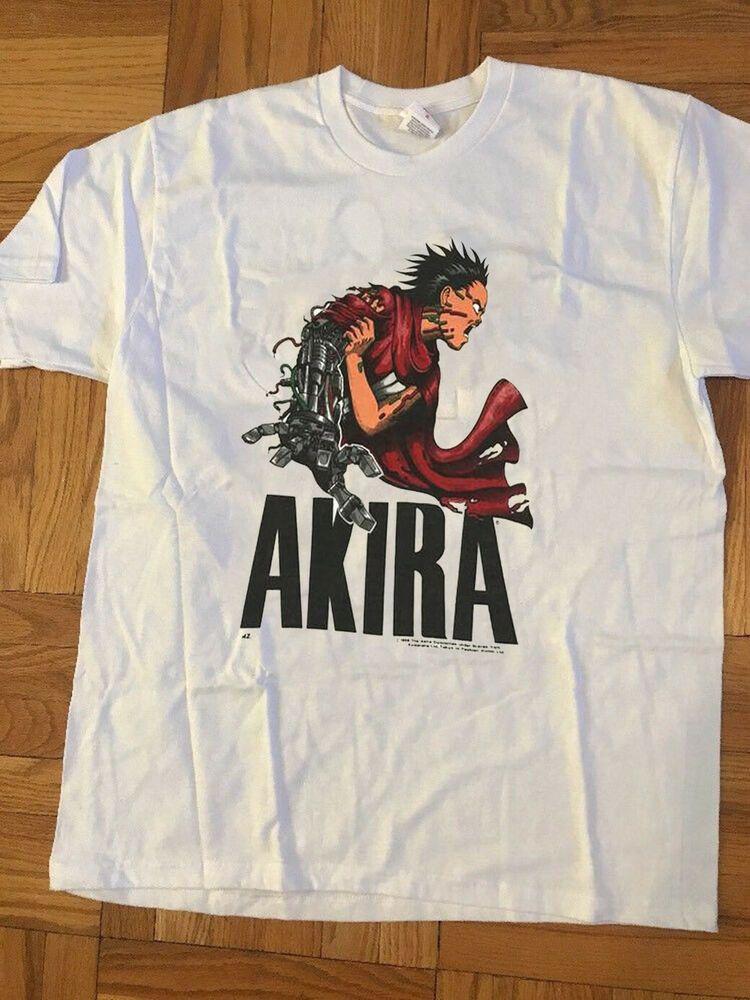 Vintage Akira T Shirt 1988 Fashion Victim Katsuhiro Otomo Gildan Reprint Rare Fashion Clothing Shoes Accessories Menscl Mens Tshirts Shirts Mens Shirts