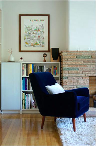 velvet chair! (Source: sfgirlbybay)