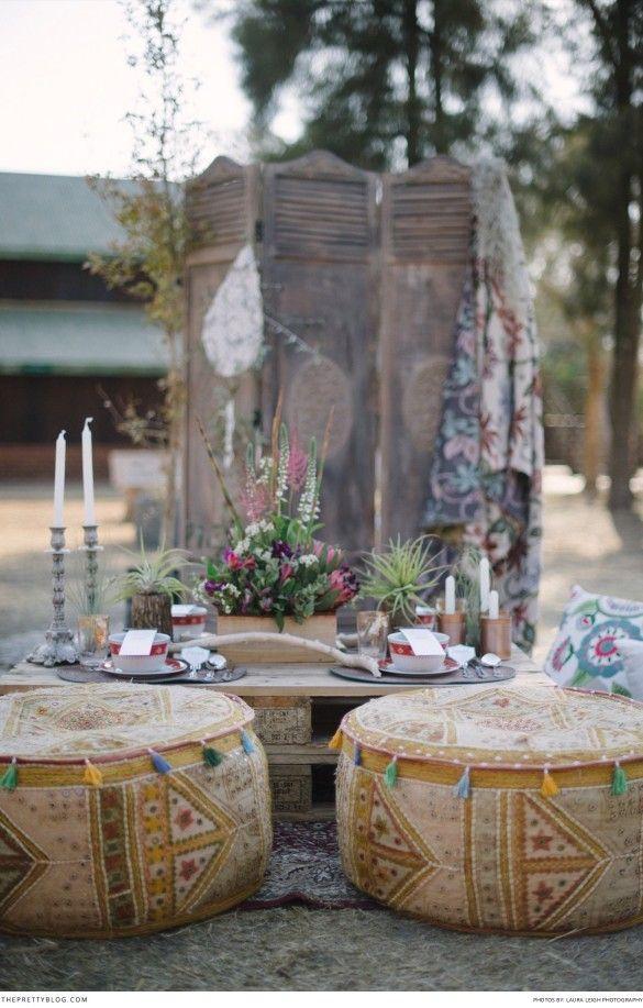 Now This Is Boho Romance Wedding Decor Inspiration Pinterest