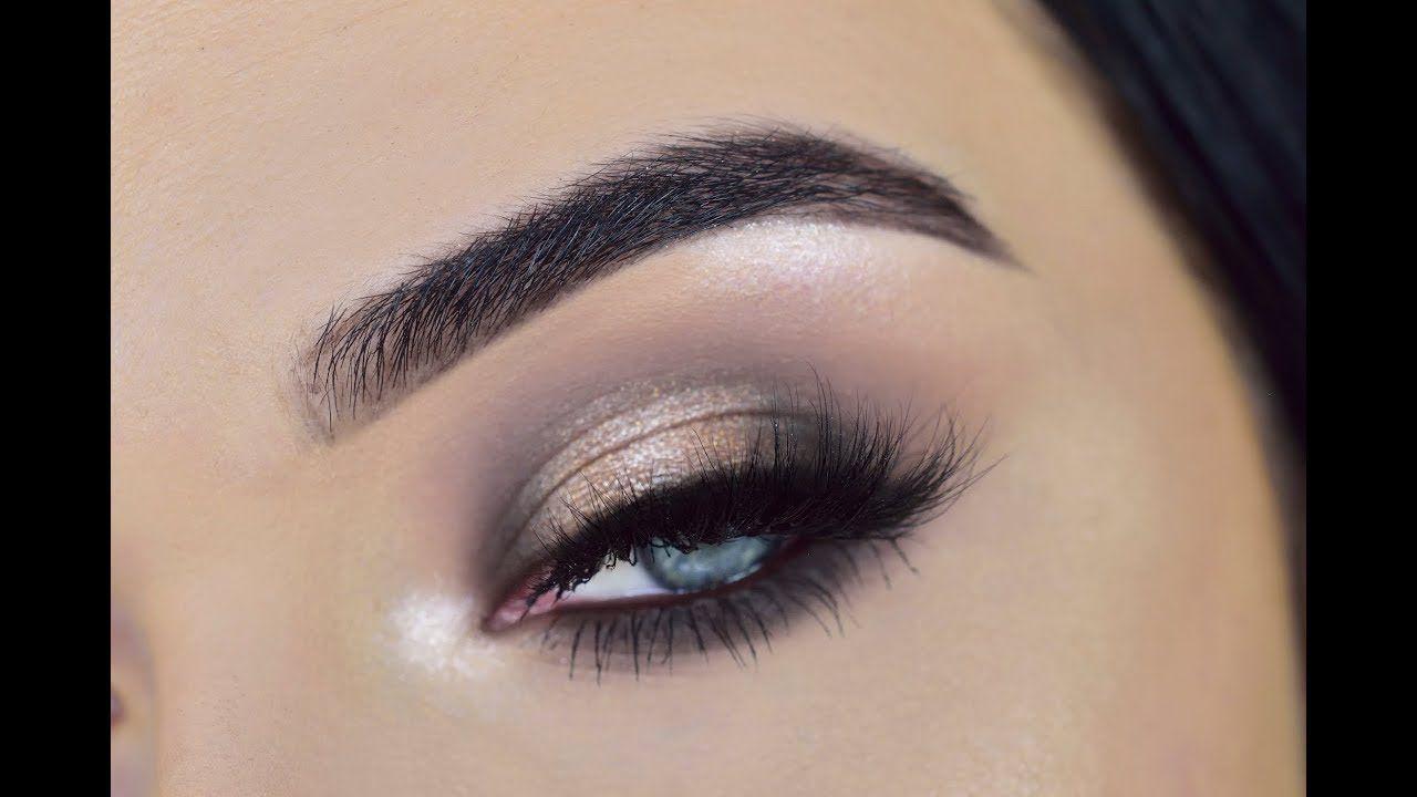 ABH Sultry Eyeshadow Palette   Halo Eye Makeup Tutorial