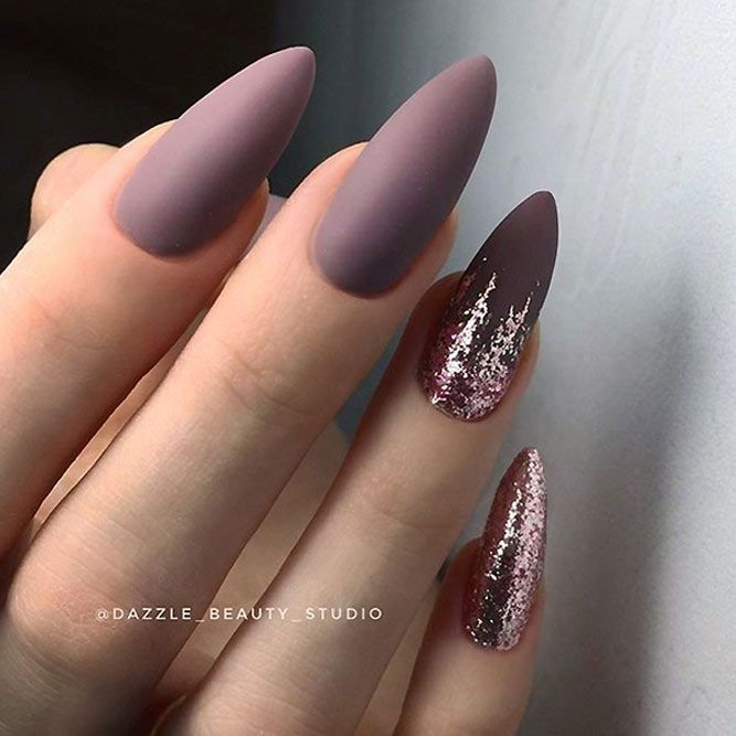 Stunning Mauve Color Nails To Squeal With Delight From Nails
